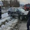 ACUM! Accident, pe DN 71, la Moroeni. Şoferiţa, de 24 de ani, s-a răsturnat cu SUV-ul în şanţ