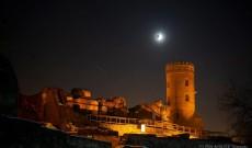 """""""Super Luna Sângerie a Lupului"""", fenomenul rar vizibil în România, s-a văzut spectaculos la Târgovişte"""