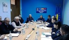 Jandarmii, la masă cu reprezentanţii cluburilor sportive