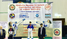 """35 de medalii pentru sportivii """"Munteanu SPORT CLUB"""", la Campionatul Naţional de Karate Shito Ryu"""