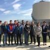 Elevii şi studenţii, vizită la Staţia de epurare Târgovişte Sud