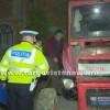 Bărbat, la un pas de moarte după ce tractorul s-a prăbușit peste el