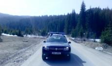 Jandarmii dâmboviţeni, în mijlocul turiştilor de la munte