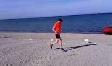 Un jandarm dâmbovițean a alergat sute de kilometri pentru copiii cu autism