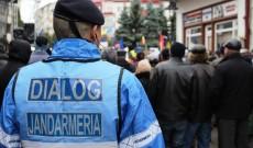 Jandarmii dâmbovițeni, mobilizați pentru mitingul PSD de la Târgoviște
