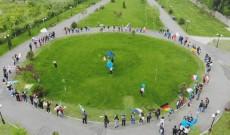 Video din dronă, de Ziua Europei, la Titu!