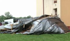 Universitatea Valahia, precizări despre bucata de acoperiș smulsă de vijelie