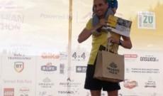 "Ionuţ Timofte, locul al III-lea la ""DHL Carpathian Marathon"""