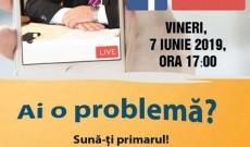 Administraţie on-line! Primarul din Răcari acordă audienţe pe facebook