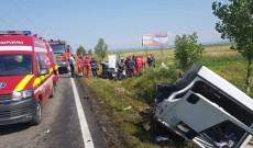 Noi imagini de la tragedia în care au murit patru oameni, pe DN 71, spre Ilfoveni. Doi dintre decedați sunt cetățeni turci