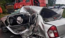 Accident mortal, la Priseaca! Un şofer, de 21 de ani, a pierit strivit între fiare