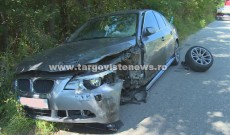 Un şofer a intrat pe contrasens şi a făcut praf un BMW condus de o şoferiţă de 26 de ani