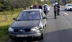 Accident în lanț pe drumul dintre Târgoviște și Pucioasa. Trei mașini au fost avariate