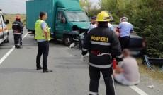 Video! Grav accident de cirulație, la Mija! O persoană a rămas încarcerată