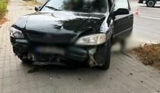 Accident pe Calea Bucureşti, în Târgovişte. O femeie a ajuns la spital