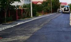Târgovişte – Străzi modernizate din bugetul local