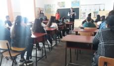 Profesori americani la Școala Gimnazială Românești