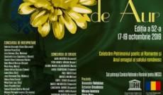 """Programul ediţiei a 52-a a Festivalului Naţional """"Crizantema de Aur"""""""