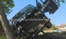 Un şofer beat şi fără permis a făcut accident la Răzvad