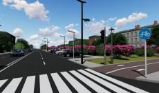 Târgovişte – Drumul spre noul mall, pe patru benzi şi cu piste pentru biciclişti