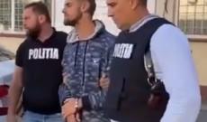 """Video – Individul care a spart magazinele din Târgovişte a fost prins : """"Îmi place la puşcărie!"""""""