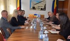 Reprezentanţi ai Israelului, întâlnire cu oficialii CJ Dâmboviţa