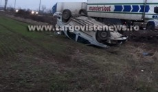 ACUM – Accident la Bujoreanca. O persoană a fost rănită