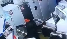 A dat atacul într-un magazin din Găeşti. Camerele de supraveghere au surprins totul