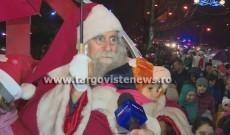 Moş Crăciun şi spiriduşii au adus magia sărbătorilor la Târgovişte!