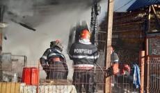 Un necaz de foc s-a abătut asupra unei familii din Malu cu Flori