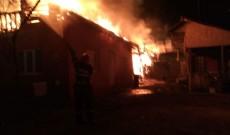 Video. Incendiu devastator în Argeş