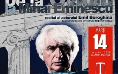 """""""De la Ovidiu la Mihai Eminescu"""""""