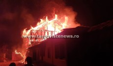 Un incendiu a lăsat în urmă prăpăd, la Ciocănari, în Niculeşti