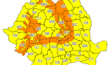 Alertă de vreme severă în toată țara. Au fost emise coduri de vânt puternic și viscol