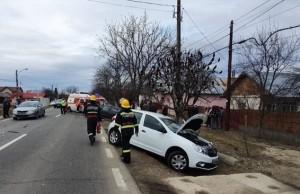 Un dâmbovițean a făcut accident pe DN 7, la Leordeni