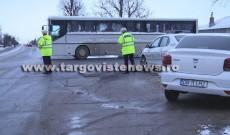 Razie fulger a polițiștilor din Dâmbovița printre transportatorii de persoane