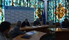 Conducerea CJ Dâmboviţa, discuţii cu reprezentanţii firmelor de construcţii