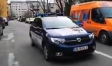 """Video – Târgovişte: """"Staţi în casă! Ieşiţi din locuinţe doar pentru urgenţe"""""""