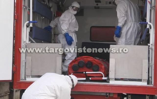 Un pacient, de 56 de ani, grav bolnav, a decedat la Târgoviște. Omul a fost confirmat și cu virusul COVID-19