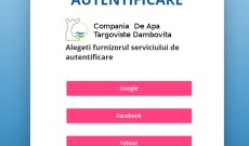 Transmiteţi indexul şi consultaţi facturile pentru apă pe https://portal.catd.ro