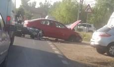 Un motociclist a fost grav rănit, la Crevedia, după ce a fost accidentat de o şoferiţă
