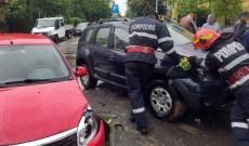 Accident pe o stradă din Târgovişte