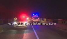 Accident mortal, pe DN 72, la Lucieni. Un camion s-a răsturnat, șoferul și-a pierdut viața