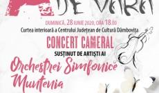 Armonii de vară, concert simfonic, duminică, la Curtea Domnească