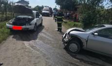 Accident la Păunei, în Picior de Munte. Doi oameni au ajuns la spital