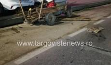 Accident mortal la Viforâta. Un șofer beat a spulberat o căruță. Un bărbat a decedat pe loc