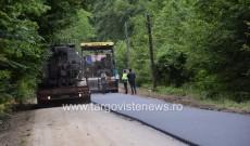 Se asfaltează Drumul 714, spre Cabana Căprioara