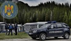 Dâmboviţa – Jandarmii montani, controale în zonele de campare