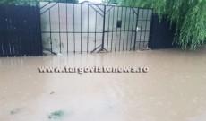 Ploile au lăsat în urmă pagube importante, în mai multe localități din Dâmbovița