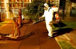 O nouă dezinfectare a locurilor de joacă din Târgovişte